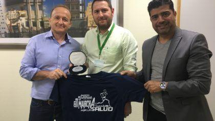Reconocimiento empresa colaboradora de la V Carrera Popular en marcha por la Salud a GM Technology
