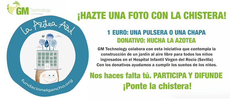 """GM Technology colabora con el proyecto """"La Azotea Azul"""""""