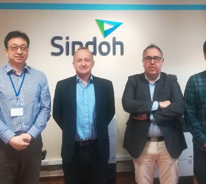 Los directivos de SINDOH Corea han visitado las instalaciones de GM Technology