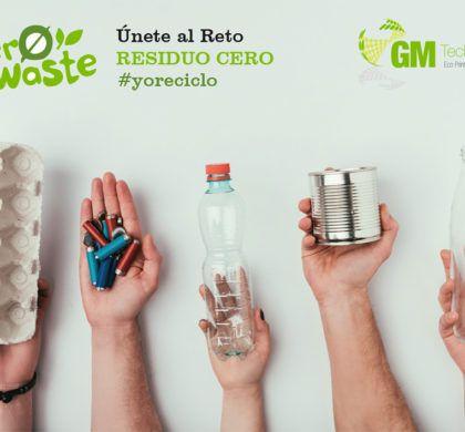 """""""ZERO WASTE, Únete al Reto Residuo Cero"""", Campaña de sensibilización ambiental, promovida por los trabajadores de GM Technology"""