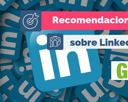 Recomendaciones Redes Sociales