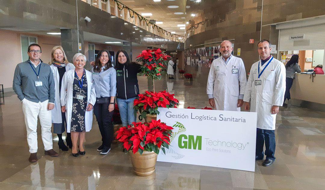 """""""Las flores nos dan vida"""", Campaña de Navidad de GM Technology en el Hospital de Osuna"""