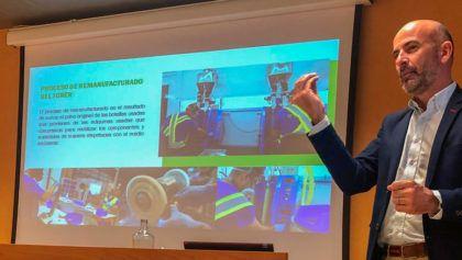 La Junta de Andalucía ha acogido una charla de nuestro CEO, Manuel Muñoz, para hablar sobre Economía Circular en los servicios de impresión