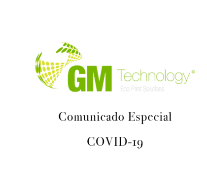 Comunicado especial COVID-19